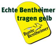 Bunte Bentheimer Schweine Ohrmarke